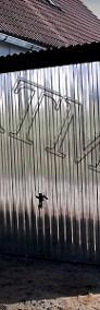 Garaże blaszane, wiaty, hale, konstrukcje stalowe, kojce.-4