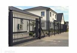 Ogrodzenie metalowe, brama przesuwna, furtka, montaż