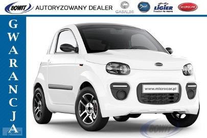 Microcar DUE 6 PLUS - 2020r - Progress - L6e-BP AM - Gwarancja - NOWY!