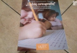 ,,Lubie ortografię '' ksiazka z ćwiczeniami do ortografii kl 1-3