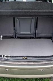 Mitsubishi Outlander III 2012-2016 górny bagażnik z subwooferem od 2012 r. najwyższej jakości bagażnikowa mata samochodowa z grubego weluru z gumą od spodu, dedykowana Mitsubishi Outlander-2