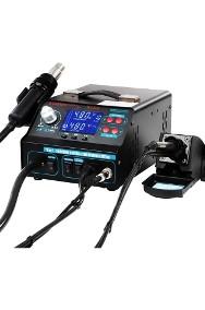 Stacja lutownicza hot air kolba podciśnieniowy chwytak lupa-2