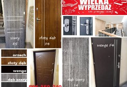Wyciszone antywłamaniowe drzwi wejściowe z montażem do mieszkania zewnętrzne