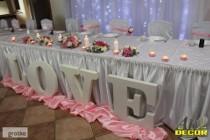 Duży Napis LOVE ! ślub, wesele, dekoracje 3d