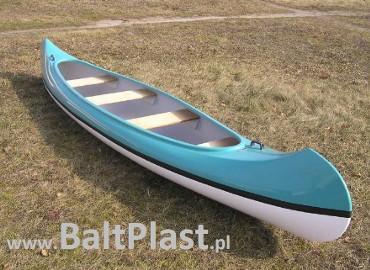 Kajak kanu CANOE 4 osobowy - laminat - NOWY od producenta