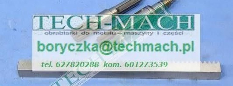 Listwa zębata do tokarki CU400, CU500 tel. 601273539-1