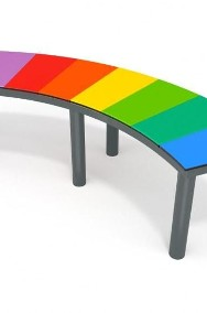 6032 ławka kolorowa plac zabaw-2