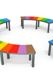 6032 ławka kolorowa plac zabaw-3
