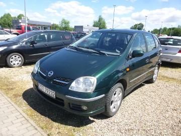 Nissan Almera II TINO 1.8, Alkantara,Klima, Alu