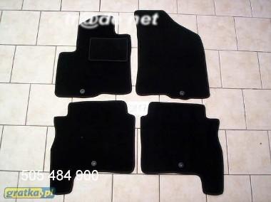 Hyundai Santa Fe 2006-2010 r. najwyższej jakości dywaniki samochodowe z grubego weluru z gumą od spodu, dedykowane Hyundai Santa Fe-1