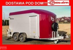 17.186 Nowim Przyczepa furgon kontener cargo c700 nowość alu alumioniowy przyczepka ciężarowa DMC 2600 kg producent przyczep ...