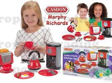 Czajnik Toster Naczynia zestaw AGD CASDON Kuchnia sprzęt dla dzieci-1