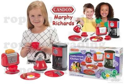 Czajnik Toster Naczynia zestaw AGD CASDON Kuchnia sprzęt dla dzieci
