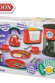 Czajnik Toster Naczynia zestaw AGD CASDON Kuchnia sprzęt dla dzieci-2