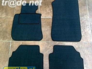 BMW 1 E81 od 2007r. hb 3d najwyższej jakości dywaniki samochodowe z grubego weluru z gumą od spodu, dedykowane BMW-1