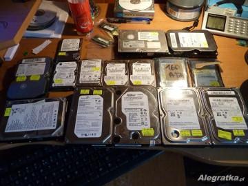 Dyski twarde, PATA - SATA 80GB - 250GB - 640GB 2,5 3,5 cala