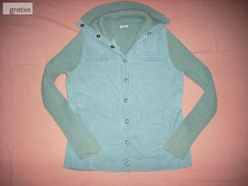 EVIE Bluza Sweter Super Miętowa 40 42 L XL