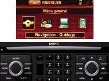 Peugeot 207 i 207 CC RT3 Nawigacja aktualizacja - 02.2006 -> 06.2007-2