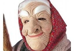 maska czarownicy