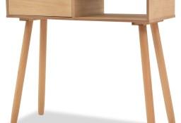 vidaXL Stolik typu konsola, drewno sosnowe, 80x30x72 cm, brązowy 244739