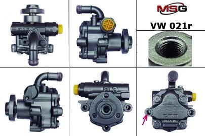 Pompa wspomagania hydraulicznego Vw Caddy, Vw Golf, Vw Multivan, Vw Sharan, Vw Transporter, Vw Crafter VW021R