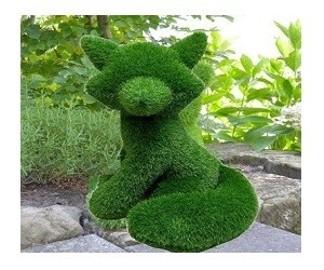 lis ze sztucznej trawy - 65 cm