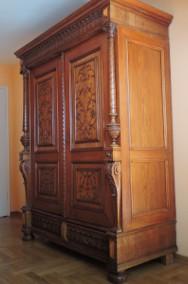 Zabytkowa Szafa Sieniowa z XIX wieku-2