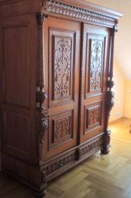 Zabytkowa Szafa Sieniowa z XIX wieku-3
