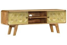 vidaXL Szafka pod telewizor, lite drewno mango, 120 x 30 x 45 cm246340