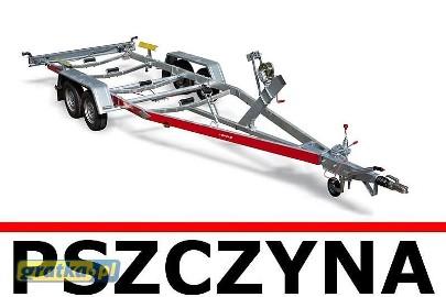 Przyczepa do przewozu łodzi Swidnik TEMA BOAT B20/083/21V Fabrycznie nowa!