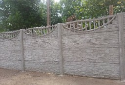 Betonowe ogrodzenie systemowe / Gołdap
