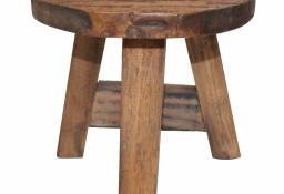 vidaXL Stołek, lite drewno z odzysku244508