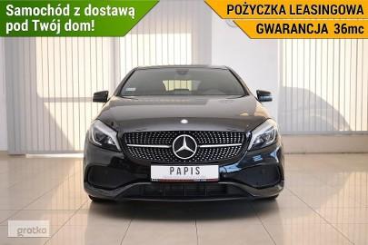 Mercedes-Benz Klasa A W176 180 SalonPL 1Wł ASO AMG Climatronic Nawi Podgrz.Fotele Alufelgi PAPI