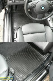 MERCEDES E-KL W124 1983-1996 dywaniki gumowe FG Mercedes-Benz 124-3