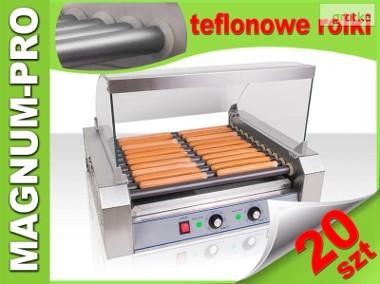 rolkowy podgrzewacz do parówek HOT-DOG 11 rolek teflon-1