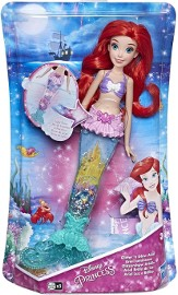 Świecąca Lalka Arielka Syrenka Ariel Księżniczki Disneya