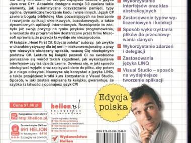 C sharp. Edycja polska. Rusz głową!-2