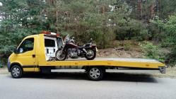 przewóz motorów Kałuszyn transport motorów Kałuszyn 510 034 399 pomoc drogowa laweta