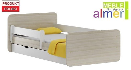 NORDI N20S łóżko dziecięce z SZUFLADĄ 200/90