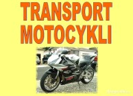 PROFESJONALNY TRANSPORT MOTOCYKLI R6,R1,GSX-R,CBR,HORNET,BANDIT,FZ....