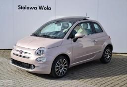 Fiat 500 Dolcevita Panorama Pudrowy Róż CarPlay Klima aut. Cyfrowe zegary Nav