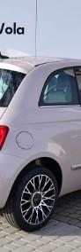 Fiat 500 Dolcevita Panorama Pudrowy Róż CarPlay Klima aut. Cyfrowe zegary Nav-4