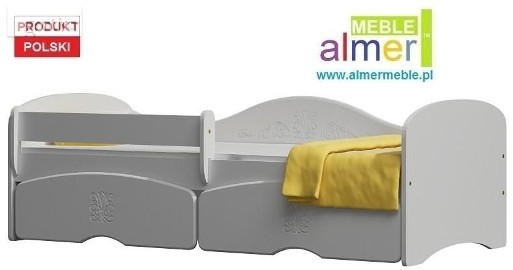 MAGIC 23SB łóżko dla dzieci + SZUFLADY bez materaca 160x80