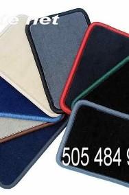 Smart ForFour 2004-2006 4 osobowy najwyższej jakości dywaniki samochodowe z grubego weluru z gumą od spodu, dedykowane Smart ForFour-2