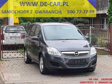 Opel Zafira B ZAFIRA 1,8 16V BOGATA WERSJA, GWARANCJA!!!-1