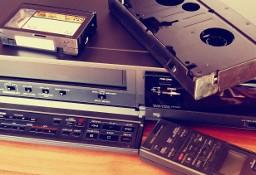 Przegrywanie kaset VHS VHS-C Video8 Hi8 Digital8 miniDV magnetofon i Blu-ray