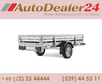 AutoDealer24.pl [NOWA FV Dowóz CAŁA EUROPA 7/24/365] 258 x 128 x 40 cm Brenderup 2260SB