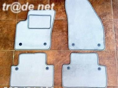 Volvo V50 od 03.2004 do 05.2012 r. najwyższej jakości dywaniki samochodowe z grubego weluru z gumą od spodu, dedykowane Volvo V50-1