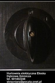 łącznik krzywkowy 0-1 , pgp 25-20 , produkcji Bułgarskiej 25A-3