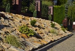Kamień dekoracyjny płaski ogrodowy na skalniak skarpy osuwiska ogród piaskowiec
